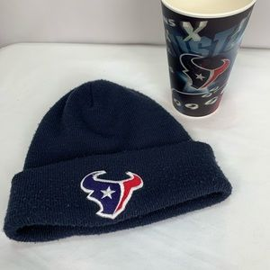 Accessories - Lot of 2 Texans Hat & Cup